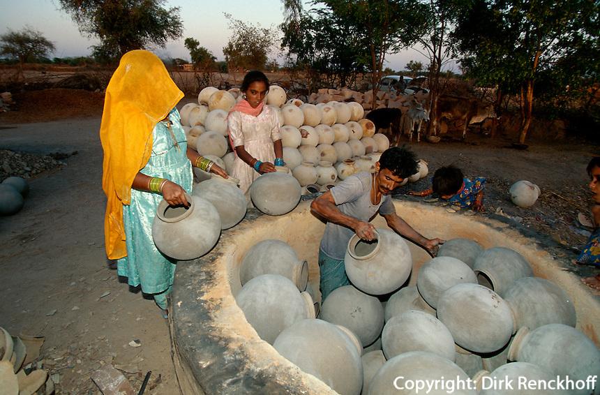 Indien, Jodhpur (Rajasthan), Töpfer