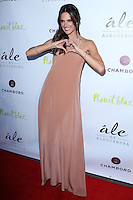 "BEVERLY HILLS, CA, USA - MARCH 13: Alessandra Ambrosio at the Alessandra Ambrosio Launch of ""ale by Alessandra"" held at Planet Blue on March 13, 2014 in Beverly Hills, California, United States. (Photo by David Acosta/Celebrity Monitor)"