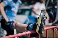 pre-race stretch<br /> <br /> 92nd Schaal Sels 2017 <br /> 1 Day Race: Merksem > Merksem (188km)