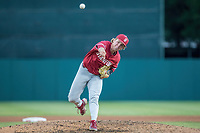 STANFORD, CA - JUNE 6: Tommy O'Rourke during a game between UC Irvine and Stanford Baseball at Sunken Diamond on June 6, 2021 in Stanford, California.