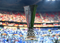 16th May 2018, Stade de Lyon, Lyon, France; Europa League football final, Marseille versus Atletico Madrid; Europa League Trophy on display before kick off