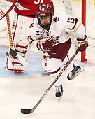 Haley McLean (BC - 13) - The Boston College Eagles defeated the visiting Boston University Terriers 5-3 (EN) on Friday, November 4, 2016, at Kelley Rink in Conte Forum in Chestnut Hill, Massachusetts.The Boston College Eagles defeated the visiting Boston University Terriers 5-3 (EN) on Friday, November 4, 2016, at Kelley Rink in Conte Forum in Chestnut Hill, Massachusetts.