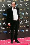Karra Elejalde attend the 2015 Goya Award Winners Photocall at Auditorium Hotel, Madrid,  Spain. February 08, 2015.(ALTERPHOTOS/)Carlos Dafonte)