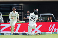 Henry Nicholls, New Zealand gets underneath a skier from Rishabh Pant, India and takes the catch during India vs New Zealand, ICC World Test Championship Final Cricket at The Hampshire Bowl on 23rd June 2021