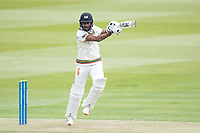 Craig Braithwaite, Gloucestershire CCC gets a thick edge and is dismissed during Middlesex CCC vs Gloucestershire CCC, LV Insurance County Championship Group 2 Cricket at Lord's Cricket Ground on 7th May 2021