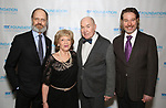 """David Hyde Pierce, Victoria Traube, Jack O'Brien and Ethan McSweeny during The """"Mr. Abbott"""" Award 2019 at The Metropolitan Club on 3/25/2019 in New York City."""