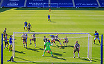 Rangers v St Mirren:  Alfredo Morelos heads in his first and Rangers second goal of the match