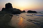 Sunrise At Livingstonia Beach