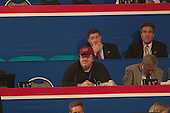 Movie Director Michael Moore at the 2004 Republican National .in New York on August 30, 2004..(RESTRICTION: No New York Metro or other Newspapers within a 75 mile radius of New York City)
