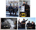 """Five-years-old Miles Scott, from Tulelake, Calif., is dressed in a DC Comic Batman costume in San Francisco, Friday, November 15, 2013. Miles, who wants to be a Batman, will embark on a series of crime-solving adventures when San Francisco is converted into """"Gotham City"""" as part of a Make-A-Wish Foundation event. He is in a fight on his own in his battle against leukemia since he was a year old. He is now in remission. (Photo: Make-A-Wish Foundation/PaulSakuma.com)"""