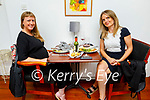Enjoying the evening in Allo's Restaurant in Listowel on Friday, l to r: Eimear Galvin and Shiela Fitzgerald from Listowel
