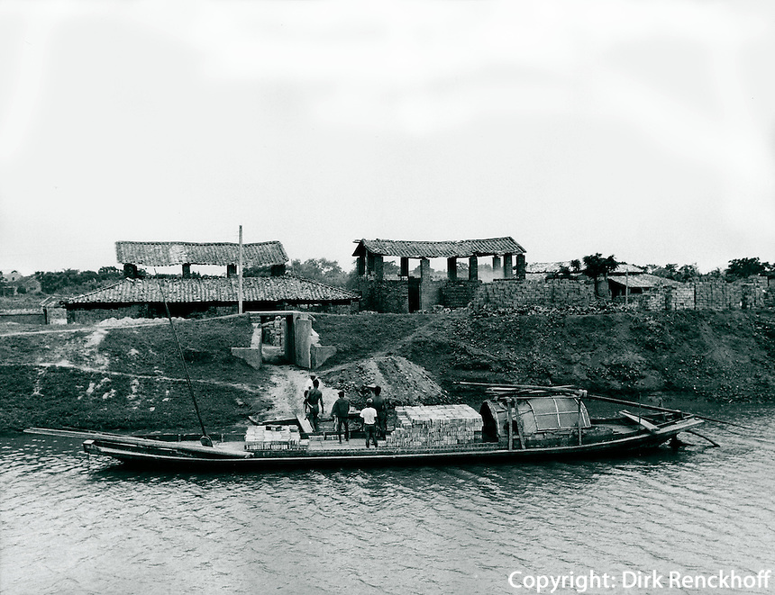 Ziegelei, China 1980