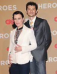 Debi Mazar and husband at The CNN Heroes: An All-star Tribute held at The Shrine Auditorium in Los Angeles, California on November 20,2010                                                                               © 2010 Hollywood Press Agency