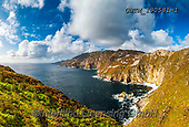 Tom Mackie, LANDSCAPES, LANDSCHAFTEN, PAISAJES, FOTO, photos,+Atlantic Ocean, Atlantic coast, County Donegal, EU, Eire, Europa, Europe, European, Ireland, Irish, Slieve League, Tom Mackie+, blue skies, blue sky, cliffs, cliffside, cloud, clouds, cloudscape, coast, coastline, coastlines, horizontal, horizontals,+landscape, landscapes, natural landscape, nobody, sea stack, weather,Atlantic Ocean, Atlantic coast, County Donegal, EU, Eire+, Europa, Europe, European, Ireland, Irish, Slieve League, Tom Mackie, blue skies, blue sky, cliffs, cliffside, cloud, clouds+,GBTM190581-1,#L#, EVERYDAY ,Ireland