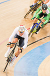 Lucas Liss of the Germany team competes in the Men's Scratch Race Final as part of the 2017 UCI Track Cycling World Championships on 13 April 2017, in Hong Kong Velodrome, Hong Kong, China. Photo by Marcio Rodrigo Machado / Power Sport Images