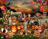 Lori, CUTE ANIMALS, LUSTIGE TIERE, ANIMALITOS DIVERTIDOS, halloween, paintings+++++Jack O Lantern Puzzle_9_72,USLS218,#ac#, EVERYDAY