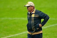 2nd June 2021; Arena do Gremio, Porto Alegre, Brazil; Copa Do Brazil, Gremio versus Brasiliense; Brasiliense manager Vilson Tadei watches the game closely