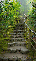 Stairs in the Portland Japanese Garden