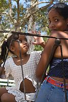 an der PLaza Marti in Vinales, Provinz Pinar del Rio, Cuba