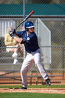 Villanova Wildcats second baseman Todd Czinege (9) at bat during a game against the Dartmouth Big Green on February 27, 2016 at South Charlotte Regional Park in Punta Gorda, Florida.  Villanova defeated Dartmouth 14-1.  (Mike Janes/Four Seam Images)