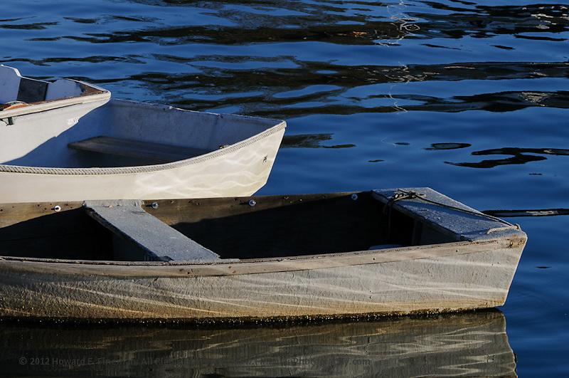 Skiffs, Perkins Cove 2012