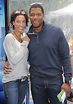 Nicole Murphy & Michael Strahan at The Dreamworks Animation's Monsters VS. Aliens L.A. Premiere held at Gibson Ampitheatre in Universal City, California on March 22,2009                                                                     Copyright 2009 RockinExposures