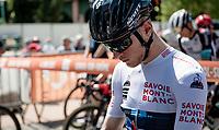white jersey / best young rider Ilan Van Wilder (BEL/DSM)<br /> <br /> 73rd Critérium du Dauphiné 2021 (2.UWT)<br /> Stage 6 from Loriol-sur-Drome to Le Sappey-en-Chartreuse (167km)<br /> <br /> ©kramon