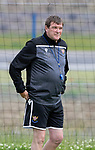 St Johnstone players back for the first day of training at McDiarmid Park in preparation for the 2019-2020 season…25.06.19<br />Pictured manager Tommy Wright<br />Picture by Graeme Hart.<br />Copyright Perthshire Picture Agency<br />Tel: 01738 623350  Mobile: 07990 594431