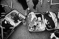 race suitcase<br /> <br /> 2013 Tour of Britain<br /> stage 6: Sidmouth to Haytor (Dartmorr): 137km