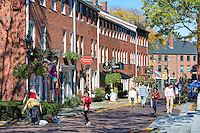 Quaint shops, Newburyport, Massachusetts, USA