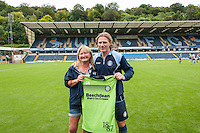 Wycombe Wanderers Manager Gareth Ainsworth during the Wycombe Wanderers 2016/17 Team & Individual Squad Photos at Adams Park, High Wycombe, England on 1 August 2016. Photo by Jeremy Nako.