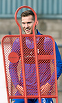 St Johnstone Training….01.10.20     <br />Jamie McCart pictured during training at McDiarmid Park ahead of Sundays game against Celtic.<br />Picture by Graeme Hart.<br />Copyright Perthshire Picture Agency<br />Tel: 01738 623350  Mobile: 07990 594431