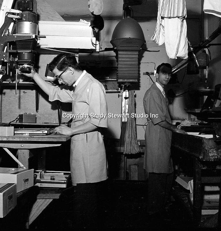 Brady Stewart Studio: The second downtown Pittsburgh studio (1956-1966) was located at 725 Liberty Ave right next to Dimlings Candies and across from Max Azens. <br />