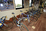 The museum at the Colnago Factory, Cambiago, Italy. 30th September 2015.<br /> Picture: Eoin Clarke | Newsfile
