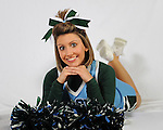 Selected images from a photoshoot with Tulane Cheerleaders-Blue Squad.
