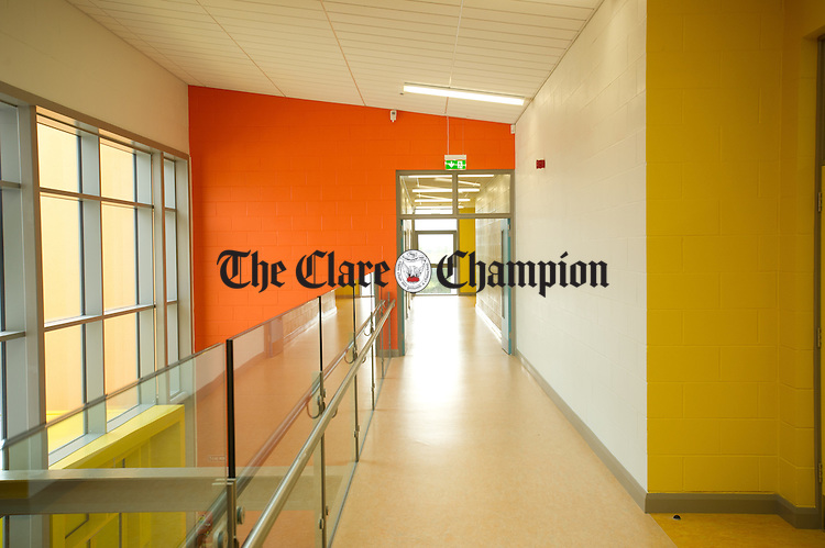 A general interior view of the new Ennis National school which opened last Friday. Photograph by John Kelly.