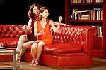 Ruth Gabriel (l) and Lidia Navarro at VERANO in the Fernan Gomez Theater.28 june 2012.(ALTERPHOTOS/ARNEDO)