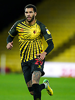 Étienne Capoue of Watford during the Sky Bet Championship behind closed doors match played without supporters with the town in tier 4 of the government covid-19 restrictions, between Watford and Norwich City at Vicarage Road, Watford, England on 26 December 2020. Photo by Andy Rowland.