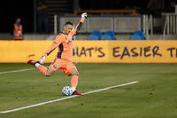 SAN JOSE, CA - SEPTEMBER 19: Aljaz Ivacic #31 of the Portland Timbers during a game between Portland Timbers and San Jose Earthquakes at Earthquakes Stadium on September 19, 2020 in San Jose, California.