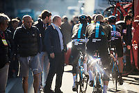 A flashy Team SKY to sign-on<br /> <br /> 107th Milano-Sanremo 2016