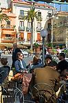 ITA, Italien, Kampanien, Sorrento: Cafe in der Innenstadt | ITA, Italy, Campania, Sorrento: cafe at centre