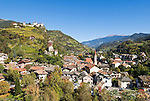 Italy, South Tyrol, Alto Adige, Chiusa at Valle Isarco, castle Branzoll, monastery Saeben