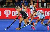 Gemma McCaw during the Pro League Hockey match between the Blacksticks women and Argentina, Nga Punawai, Christchurch, New Zealand, Friday 28 February 2020. Photo: Simon Watts/www.bwmedia.co.nz