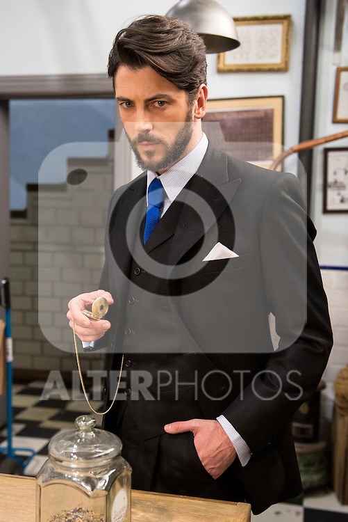 """Angel de Miguel during the presentation of the new characters for the new season of the tv series """"El Secreto de Puente Viejo""""  in Madrid, February 10, Madrid."""