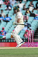 7th January 2021; Sydney Cricket Ground, Sydney, New South Wales, Australia; International Test Cricket, Third Test Day One, Australia versus India; Will Pucovski of Australia reacts after a bouncer passes him by