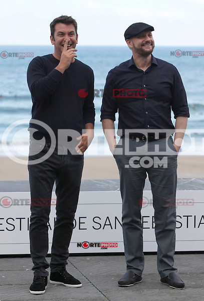 "Actor Arturo Vals and director Juan Jose Campanella present their new film ""Futbolin"" during the 61 San Sebastian Film Festival, in San Sebastian, Spain. September 20, 2013. (ALTERPHOTOS/Victor Blanco) /NortePhoto"
