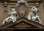 Hope and Poverty Balthasar Permoser Theatine Coat of Arms Santi Michele e Gaetano San Gaetano Florence