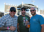 Aric, John and Steve during the Reno Rodeo Concert on Wednesday night, June 19, 2019.