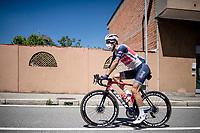 Vincenzo Nibali (ITA/Trek-Segafredo) off to sign-on<br /> <br /> 101st Milano-Torino 2020 (UCI 1.Pro)<br /> 1 day race from Mesero to Stupinigi (198km)