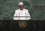 Opening of GA 72 2017 PM<br /> His Excellency Ibrahim Boubacar Keita, President of the Republic of Mali